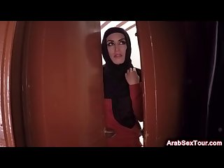 arab hottie riding big fat learn of