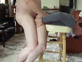 Skinny little gay slut gets his anus destroyed real hard