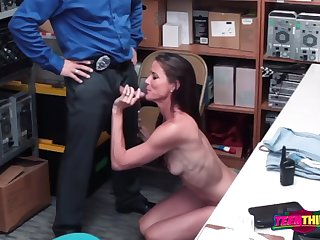 sofie marie is contrived by horny bureaucrat into taking his big fat cock