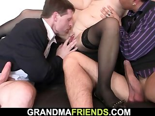 redhead office milf gets her pussy licked and fucked