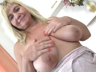 cute mature mom