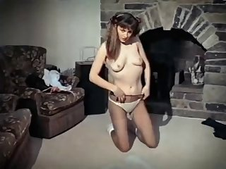 hysteria - vintage british leggy strip dance tease