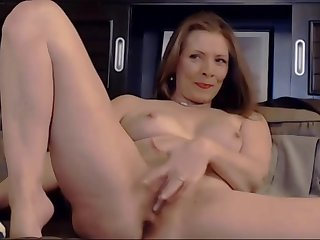 loved cutie housewife plays with her sensitive pussy